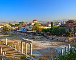 Římská agora v Athénách