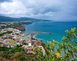 Pohled na ostrov Capri