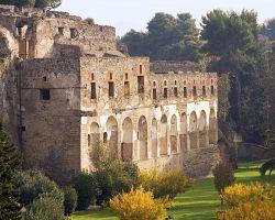 Pozůstatky města Pompeje