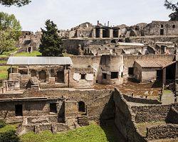 Ruiny v Pompejích