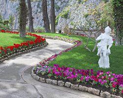 Augustovy zahrady na Capri