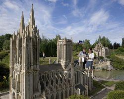 Katedrála ve France Miniature