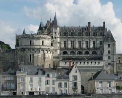 Středověký zámek Amboise