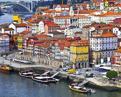 Pohled na město Porto