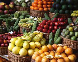 Trhy ve Funchalu