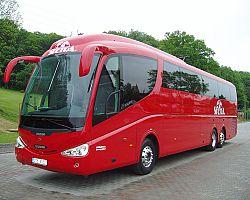 Autobus, kterým pojedeme :)