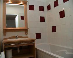 Čisté prostředí koupelny