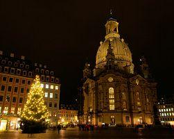 Kostel Panny Marie o Vánocích