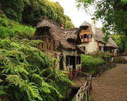 Původní domky na Madeiře