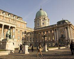Královský palác v Budapešti