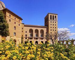 Benediktýnský klášter na Montserratu