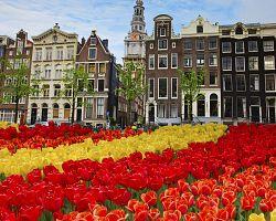 Štítové domy Amsterdamu