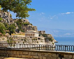 Hlavní město Kerkyra