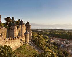 Kouzelné středověké Carcassone