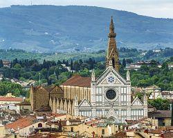Úchvatná bazilika Santa Croce