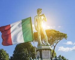 Socha Davida – symbol Florencie