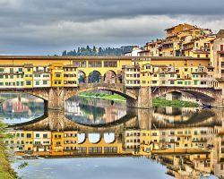Proslulý most Ponte Vecchio