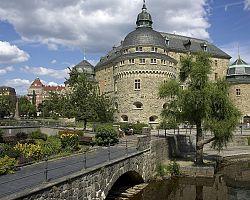 Malebné městečko Örebro