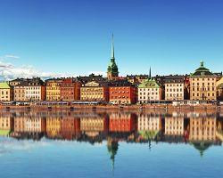 Půvabné Staré město ve Stockholmu