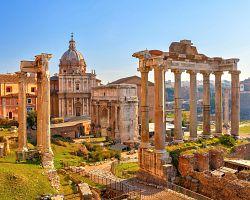 Pohled na Forum Romanum