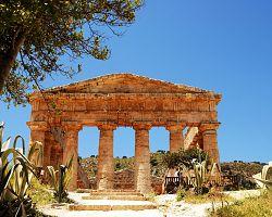 Antický chrám v Segestě