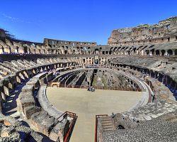 Slavné dějiště gladiátorských her