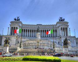 Památník Viktoria Emanuela II. v Římě