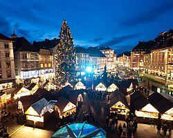 Vánoční trhy na hlavním náměstí