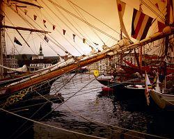 Významné přístavní město Bergen