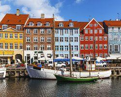 Malebný přístav Nyhavn