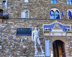 Nejslavnější florentská socha – David