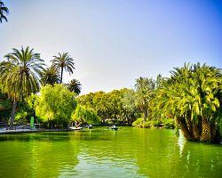 Romantický Parc de la Citutadella