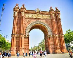 Vítězný oblouk v Barceloně