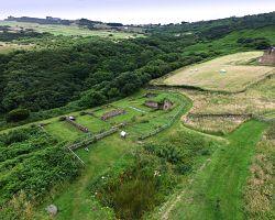 Malebná krajina hrabství Yorkshire