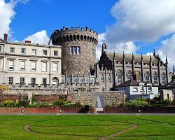 Dublinský hrad známý i z pozadí BBC