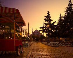 Kouzlo večerního Istanbulu