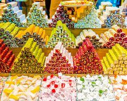 Sladkosti z Velkého bazaru