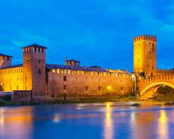 Hrad Castelvecchio ve Veroně