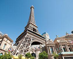 Replika Eiffelovy věže v Las Vegas