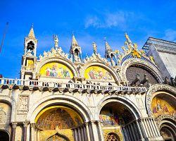 Průčelí baziliky sv. Marka