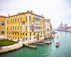 Galeria dell´Accademia a Canale Grande