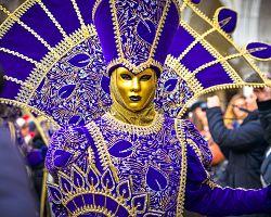 Originalní karnevalové masky
