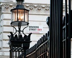 Pohled na Downing Street