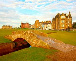 St. Andrew - ráj golfistů