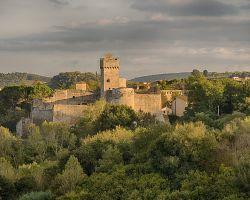 Pozůstatky hradu Rocca
