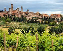 Město San Gimignano
