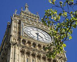 Londýn - Pohled na  věž Big Ben