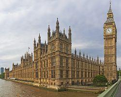Budova britského parlamentu