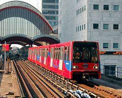 Automatický vláček Docklands Light Railway