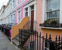 Londýnská čtvrť Portobello Road